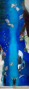 Childrens Hospital Kings Daughters Mural - composite